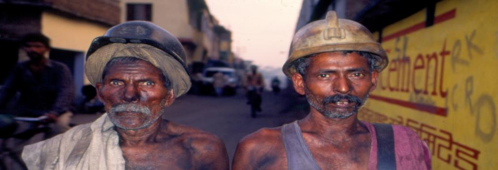 Coal miners in Dhanbad district. Photo: Amit Shankar