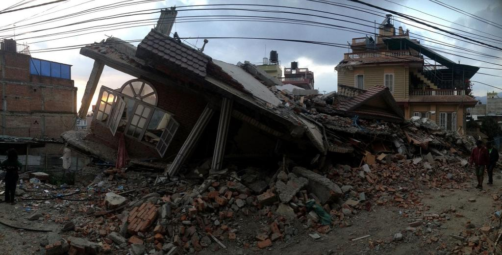 Nepal Earthquake. Photo: Wikimedia Commons