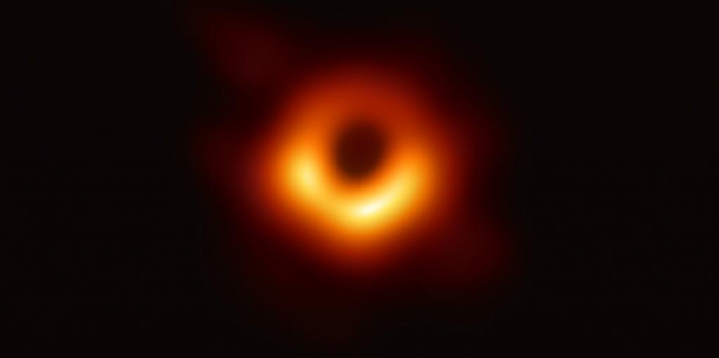 On April 10, 2019, scientists in Brussels unveiled the first-ever image of a black hole. The pictured black hole lies at the centre of Messier 87, a massive galaxy in the constellation of Virgo. It is located 55 million light-years from Earth and has a mass 6.5-billion times larger than our sun. Image: European Southern Observatory