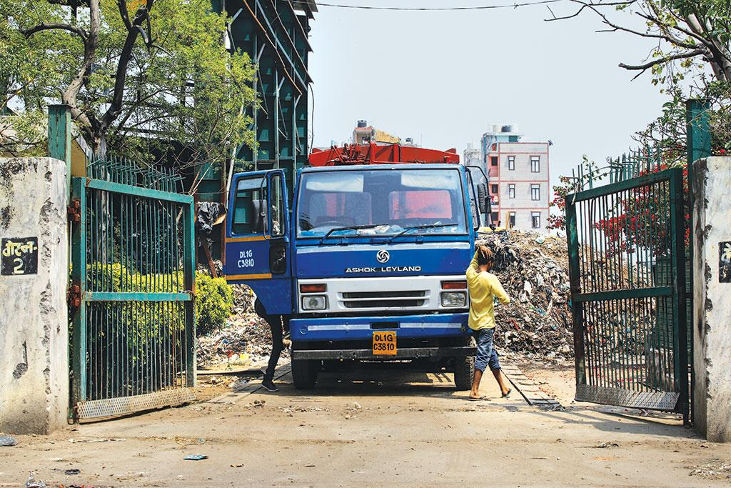 To maximise the tipping fee which is paid on the quantity of waste collected (Photo: Vikas Choudhary)