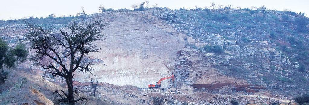 Illegal stone quarries in Sonha town of Haryana have caused permanent damage to the Aravallis