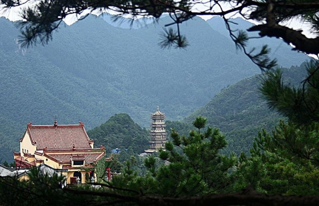 Jiuhuashan, China: The site, literally meaning 'Nine Glorious Mountains', is situated in China's Anhui province. Apart from being religious, historically and culturally significant, the mountains also provide a major source of fresh water for the Yangtze River system.