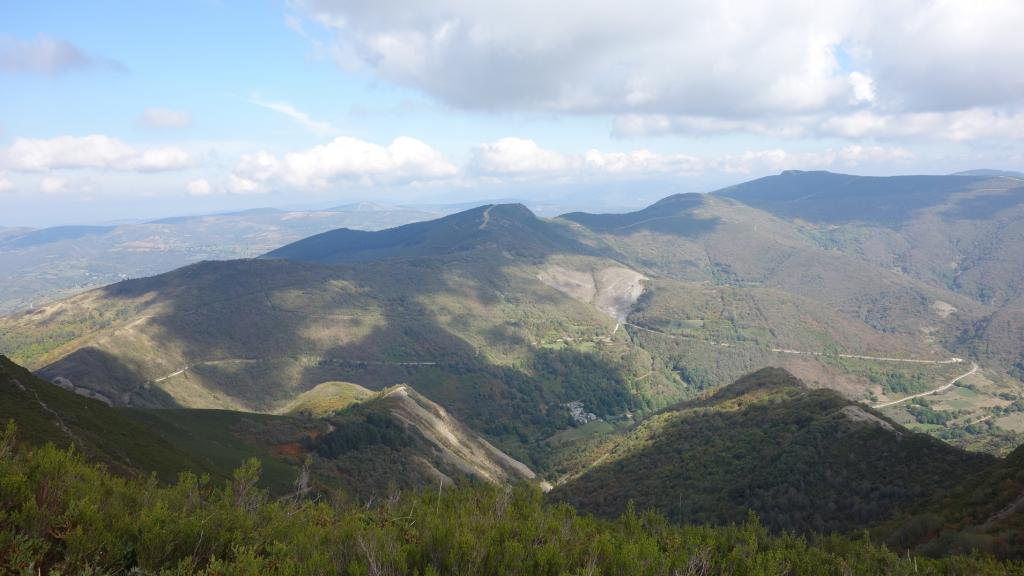 Courel Mountains, Spain: Located in northwestern Spain, the territory's deep valleys and canyons have been formed by erosion. The mountains were said to have been exploited by the Romans between the first and second century CE, for the gold mines. Remnants of pre-historic fauna and flora, as well as Neolithic paintings, can also be found within the deep caves of the mountains.