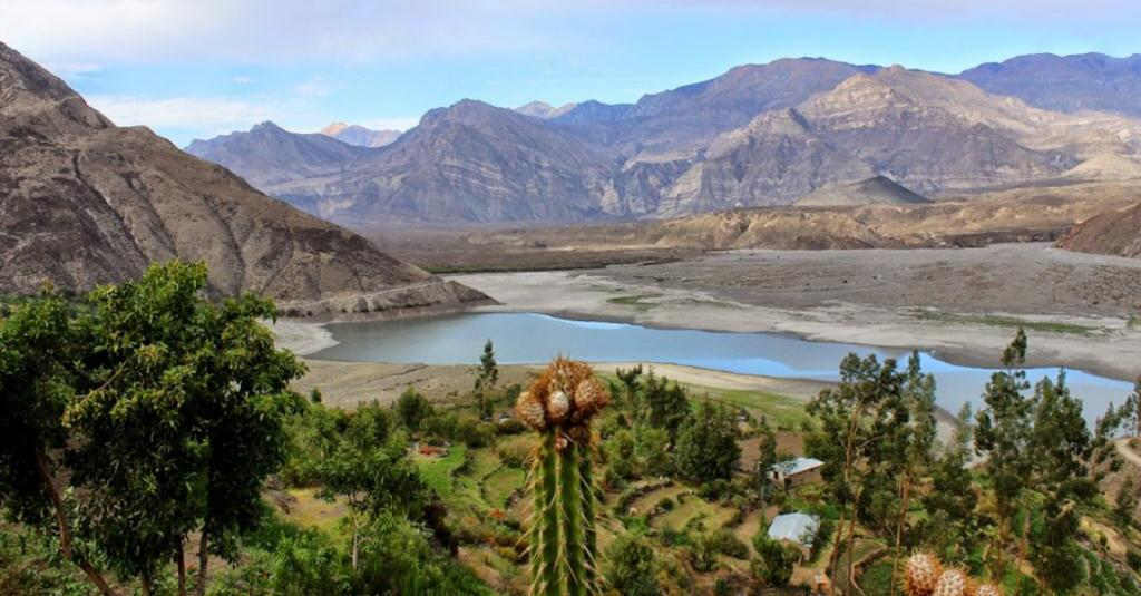 Colca y Volcanes de Andagua, Peru: This UNESCO Global Geopark comprises a vast array of volcanic landscapes, lakes, geological faults, pre-Hispanic ruins and colonial churches. The landscape features the great Colca Canyon — one of the largest and deepest in the world formed 400 million years ago.