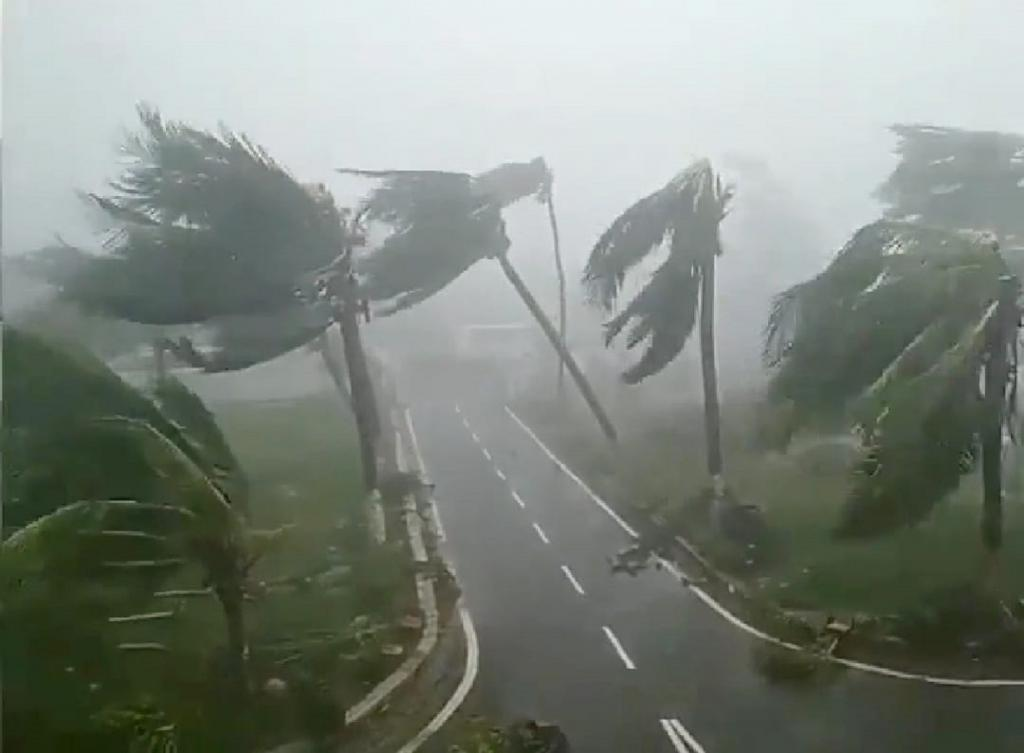Cyclone Fani is only the second severe cyclone in the last 118 years to form in the Bay of Bengal in the month of April and cross over to the Indian mainland. Photo: Ashis Senapati