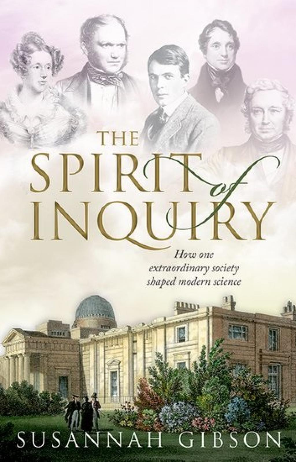 The cover of 'The Spirit of Inquiry' by Susannah Gibson. Photo: Oxford University Press