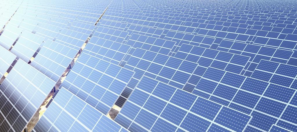 A solar farm. Photo: Getty Images