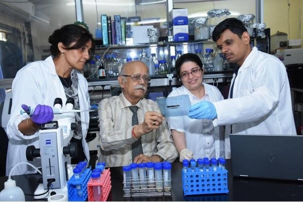 Scientists Vidita Vaidya, Ashok Vaidya, Sashaina Fanibunda and Ullas Kolthur-Seetharam from Mumbai-based Tata Institute of Fundamental Research who conducted the study.