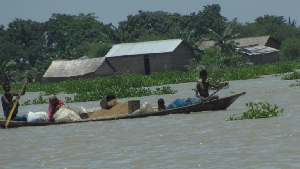 Brahmaputra's Neamatighat at risk of severe flood situation: CWC Photo: Oxfam International/Flickr
