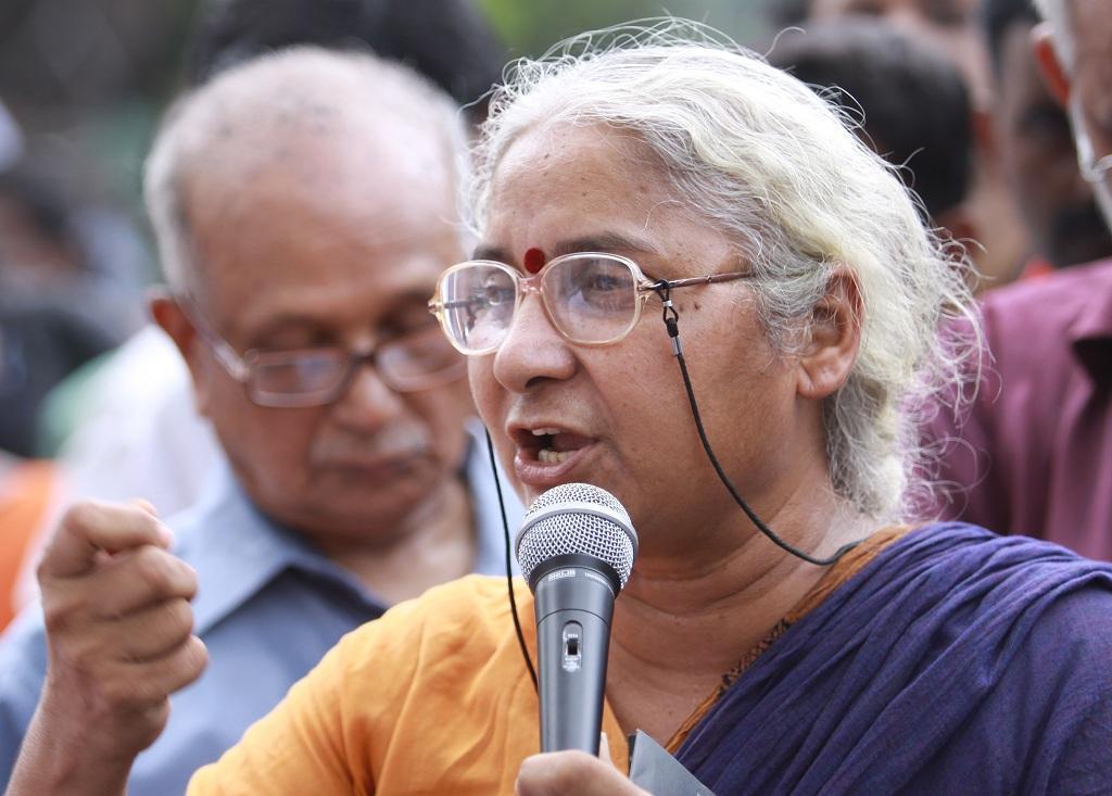 मेधा पाटकर । Photo Credit - wikipedia