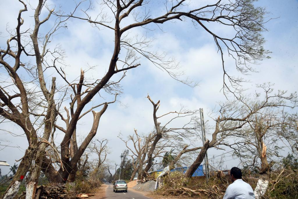 Cyclone Fani: From the ferocious winds to the trail of destruction