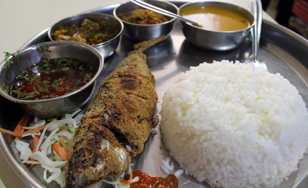 Goan fish curry with rice. Photo: Getty Images