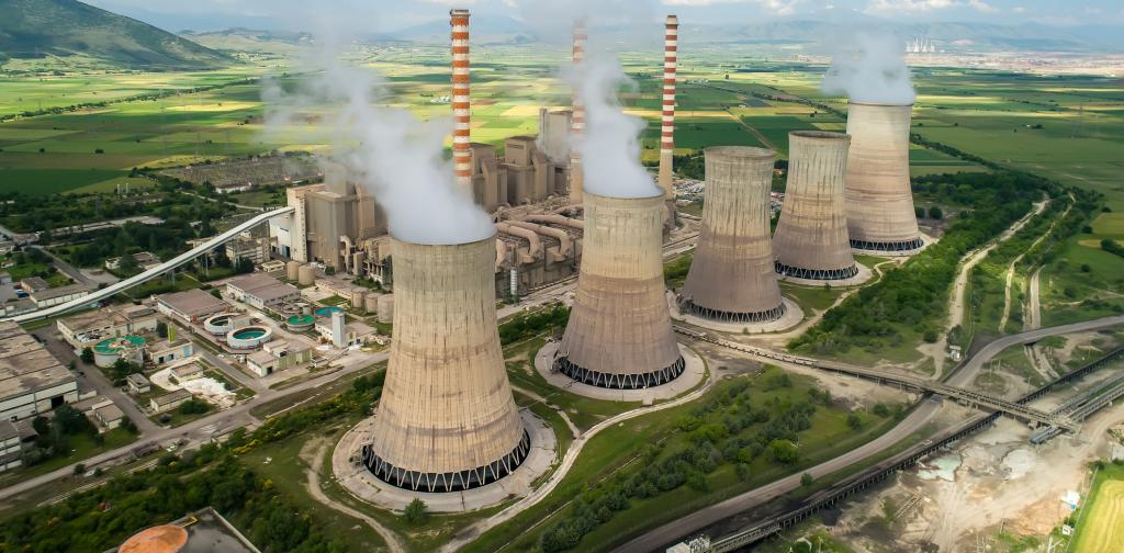 A nuclear power plant in northern Greece. Photo: Getty Images