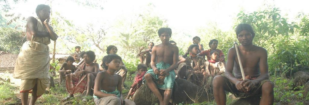 Dongria kondh tribals on niyamgiri. Photo: Agnimirh Basu