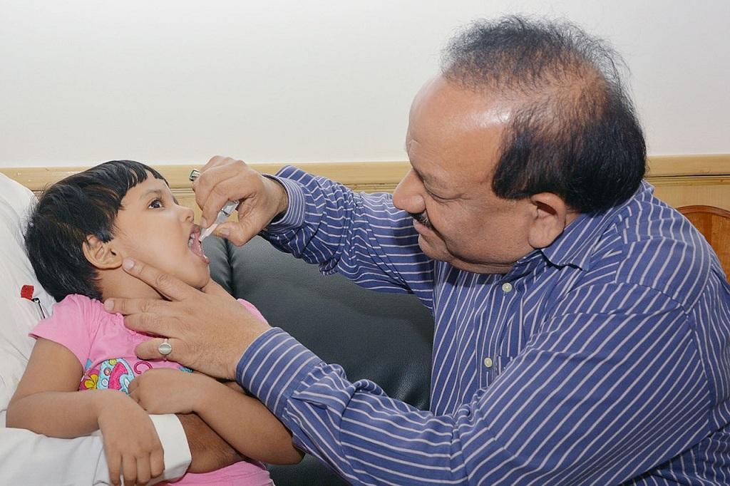 नए स्वास्थ्य मंत्री डॉ. हर्ष वर्धन (फाइल फोटो): Credit: Wiki commons