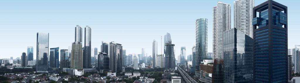 A panoramic view of Jakarta. Photo: Getty Images