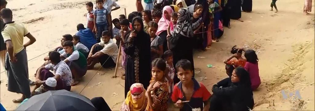 Rohingya refugees in Bangladesh. Photo: Wikimedia Commons