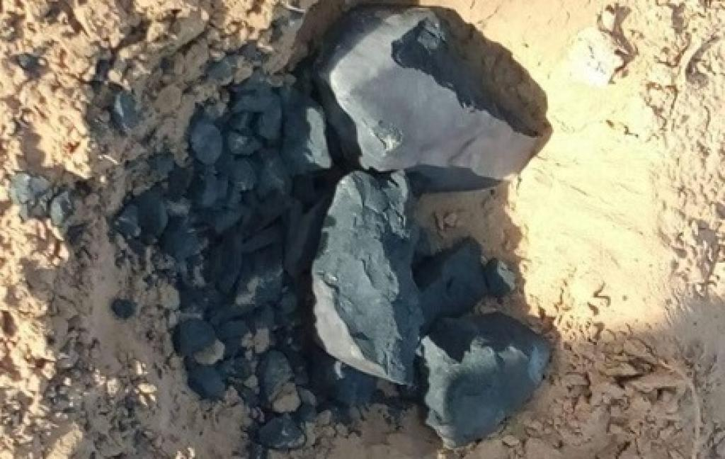 Meteorite found in Rajasthan village in June 2017
