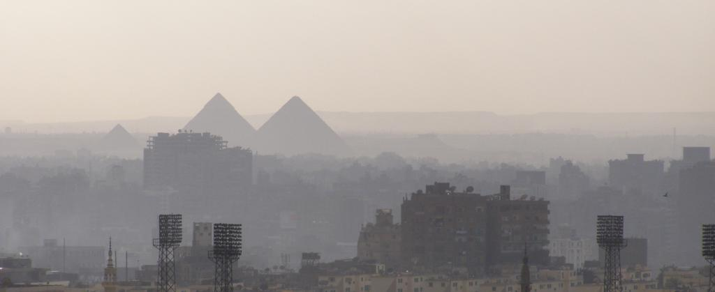 A hazy day in Cairo, Africa's largest city. Photo: Getty Images