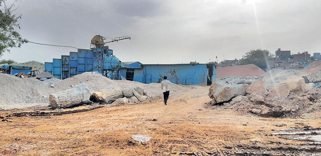 Few know  that Ahmedabad has a C&D waste recycling plant at Pirana, just 13 km from the city
