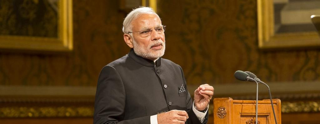 Prime Minister Narendra Modi. Photo: Flickr/UK Parliament