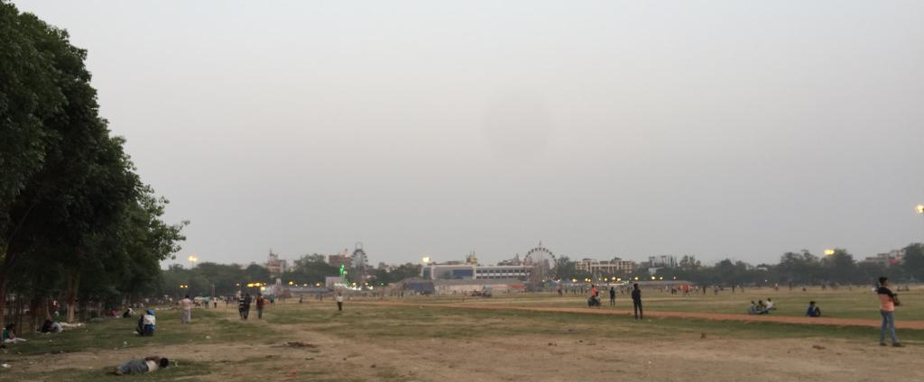 The famous Gandhi Maidan in Patna. Photo: Getty Images