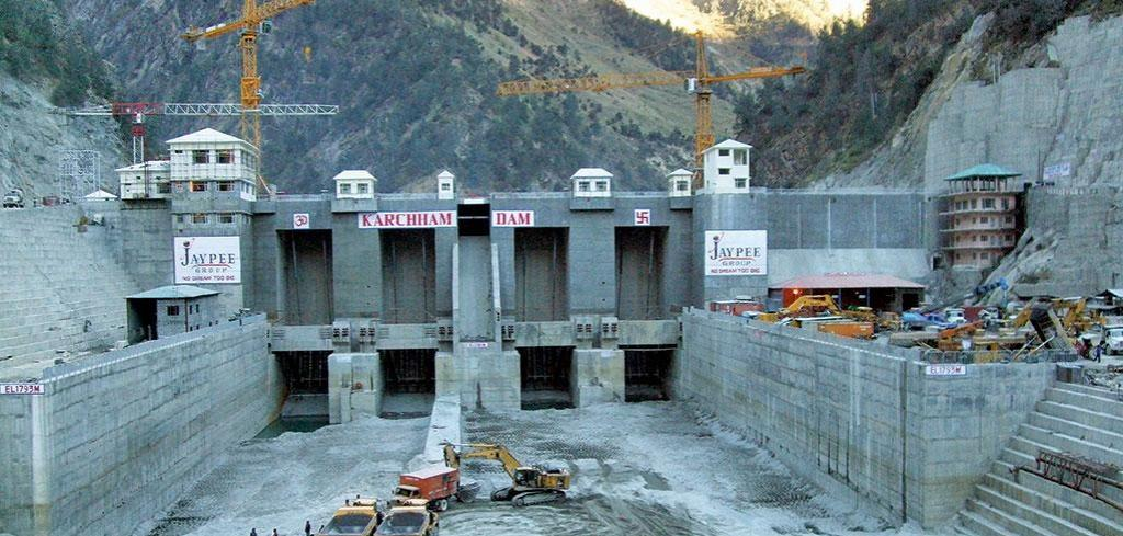 The hydropower sector is in a slump. Jaiprakash Power Ventures Ltd sold its 1,080 MW Karcham Wangtoo project in Himachal Pradesh to JSW Energy in 2015 for a loss (Photo courtesy: SANDRP)