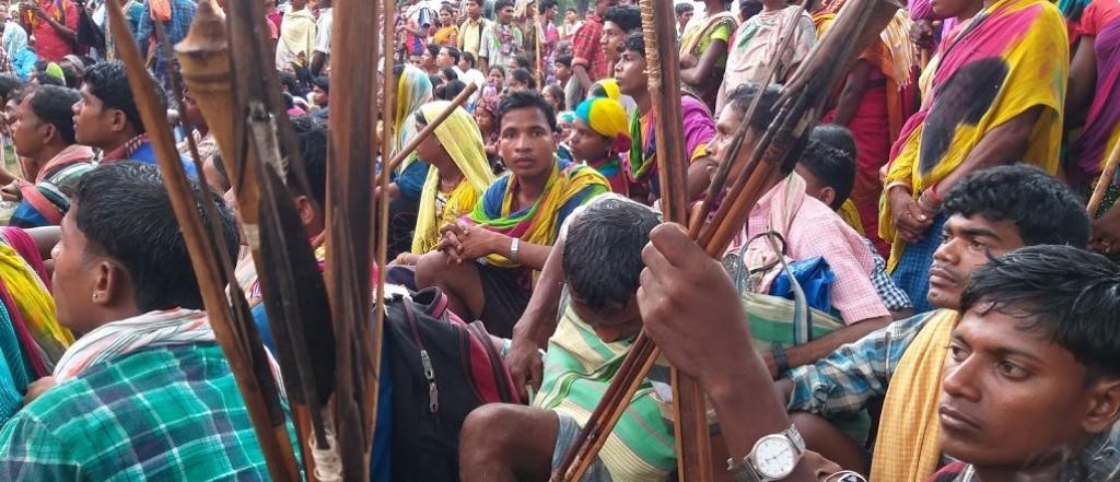 The Bailadila protestors.