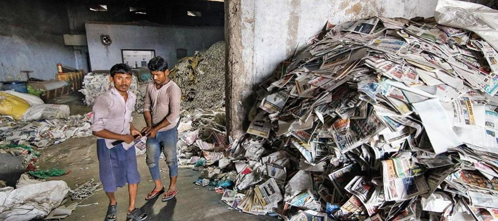 Wastepaper import is helping India meet the domestic demand, which rose from 9.3 million tonnes in 2008 to 17.1 million tonnes in 2018. (Photo: Vikas Choudhary)