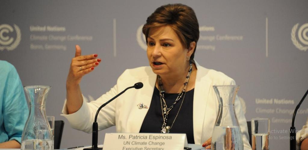 UNFCCC Executive Secretary Patricia Espinosa. Photo: @UNFCCC/Twitter