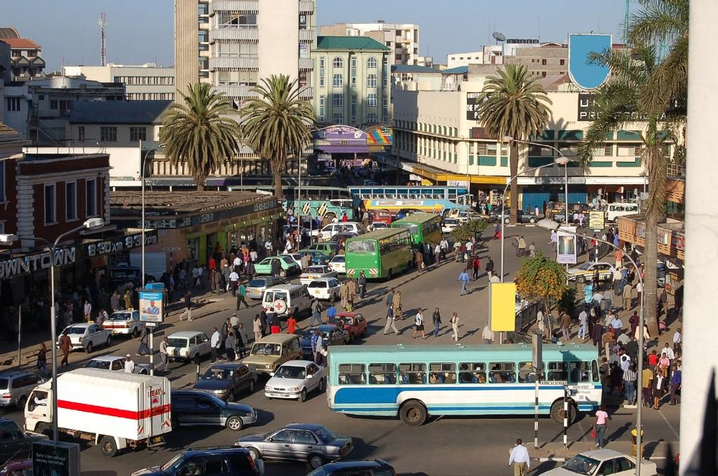 A view of Downtown Nairobi.Photo: Getty Images