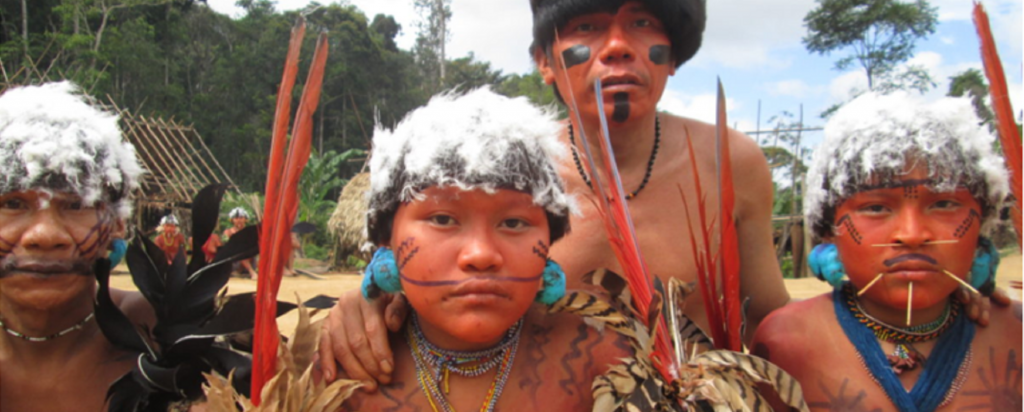 Yanomami people. Photo: Wataniba Socio-environmental Work Group for the Amazon