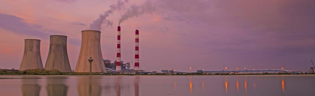 A thermal power plant. Photo: Wikimedia Commons