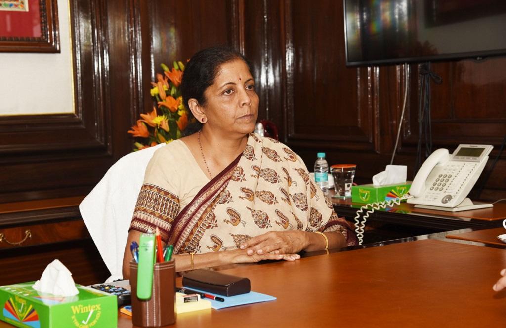केंद्रीय वित्त मंत्री निर्मला सीतारमण 5 जुलाई को आम बजट पेश करेंगी। Photo Credit: PIB