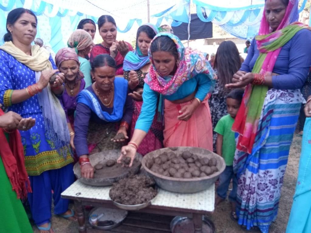 ग्रामीण क्षेत्रों में महिलाएं भी कर रही हैं अभियान में सक्रिय भागीदारी। फोटो: त्रिलोचन भट्ट