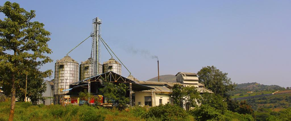 An industrial unit near Pune. Photo: Getty Images