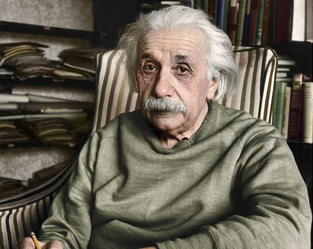 Albert Einstein. Photo: oneredsf1/Flickr