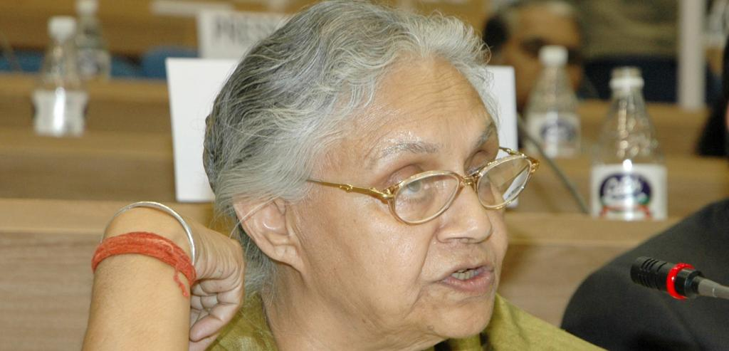 Late Delhi chief minister, Sheila Dikshit. Photo: Wikimedia Commons