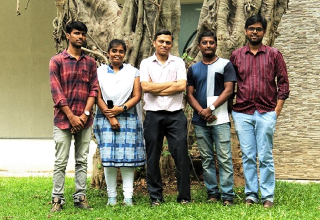 चेन्नई स्थित गणितीय विज्ञान संस्थान के शोधकर्ताओं की टीम