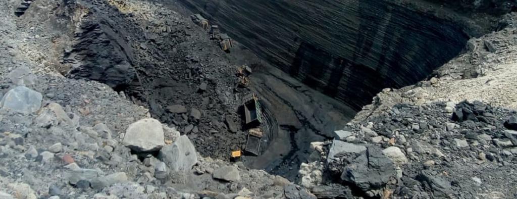 The coal mine in Talcher where the incident occurred. Photo: Ashis Senapati