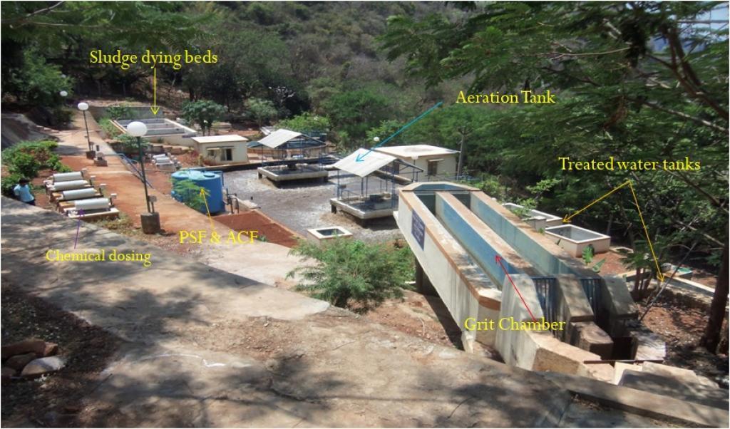 Annarao Cottage sewage treatment plant