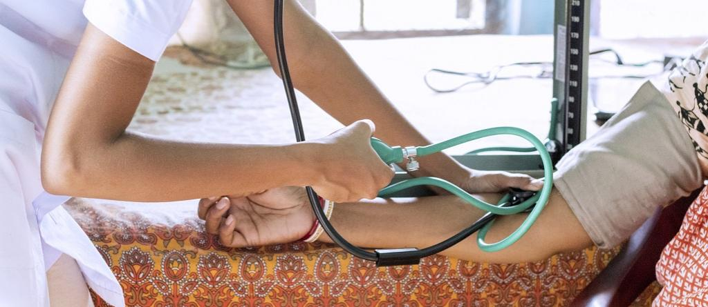 One in four adults has high blood pressure in India. Photo: Getty Images