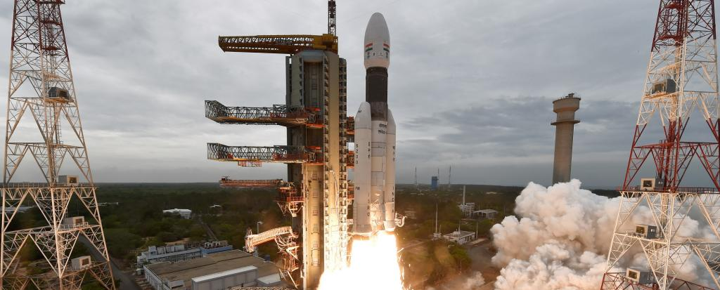 Chandrayaan 2 has had to change its trajectory from what was originally planned. Photo: ISRO