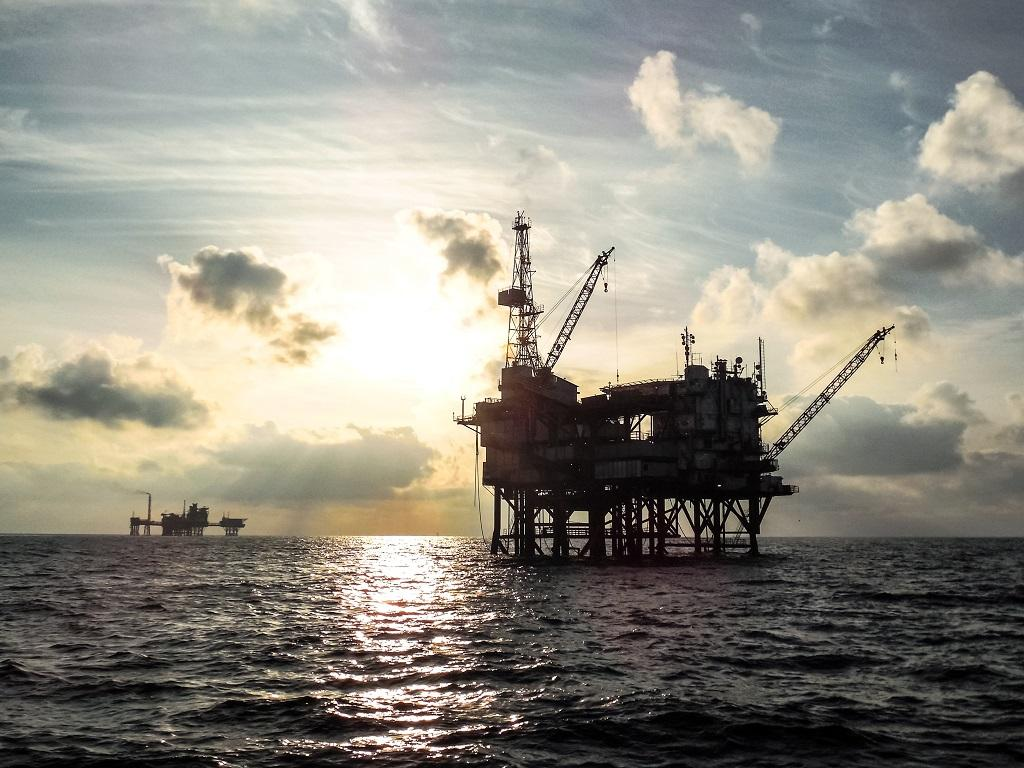 The UK National Atmospheric Emission Inventory reported methane losses from the rigs in the North Sea to be 0.13 per cent of gas production. Photo: Getty Images
