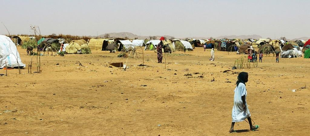 An internally displaced persons camp in Darfur. Photo: Oxfam