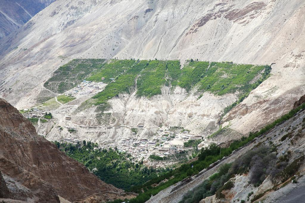 Around 72% of Himachal Pradesh's Kinnaur district is undergoing land degradation and desertification. Photo: Midhun