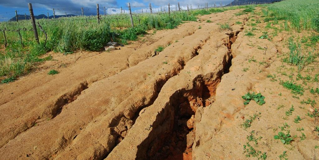 Some gullies in China were 100 metres deep and 20 to 30 metres wide and could stretch over several kilometres. Photo: Getty Images