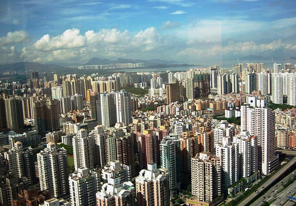 The city of Shenzhen in China. Photo: Wikimedia Commons