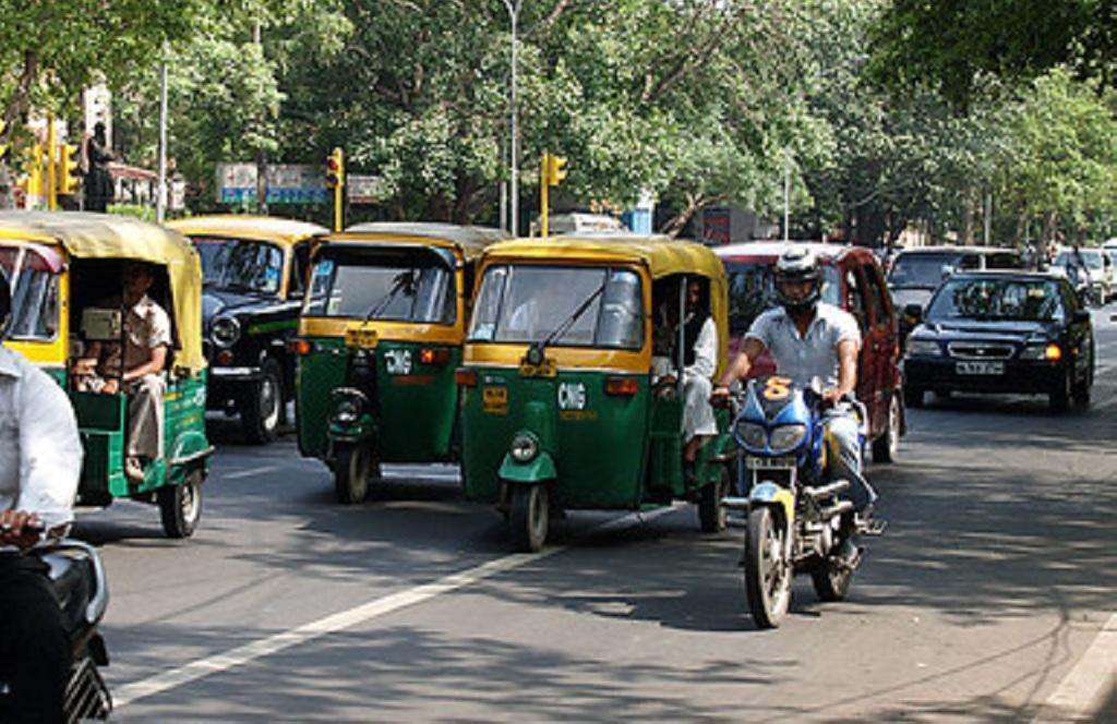 दिल्ली की तर्ज पर बिहार में चलेंगे सीएनजी ऑटो टैक्सी। Photo: Creative commons