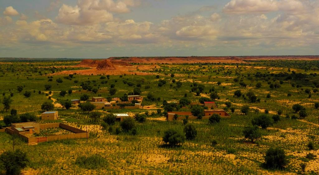 A view of Sahel at Niger. Photo: Getty Images